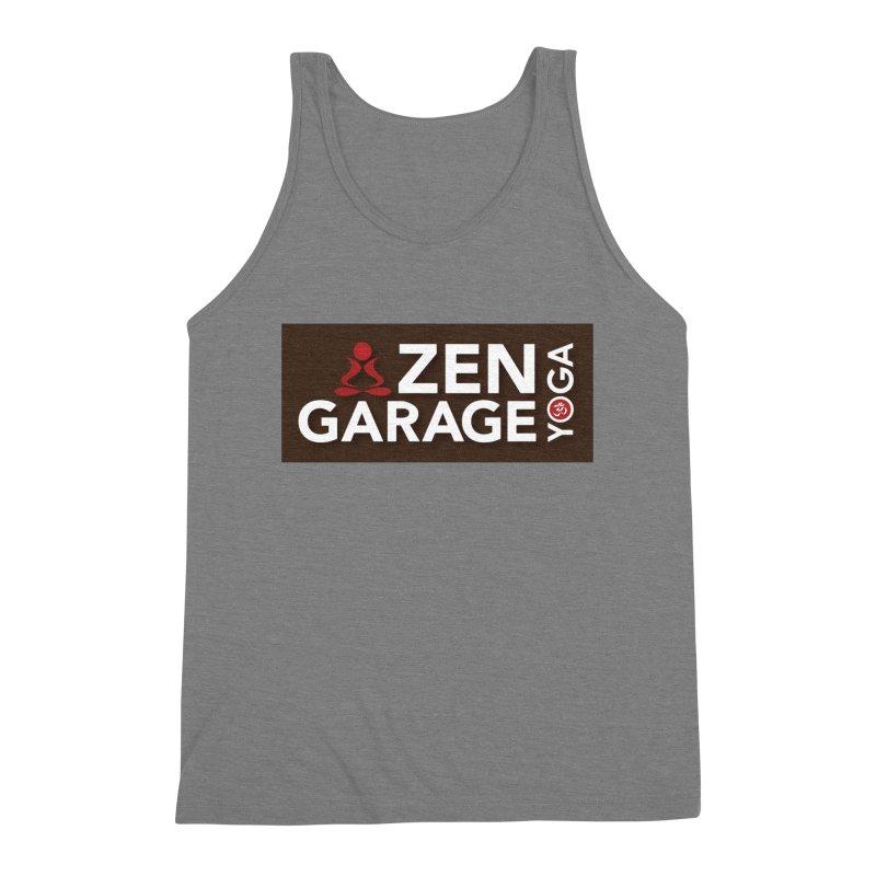 ZYG Logo Men's Tank by zenyogagarage's Artist Shop