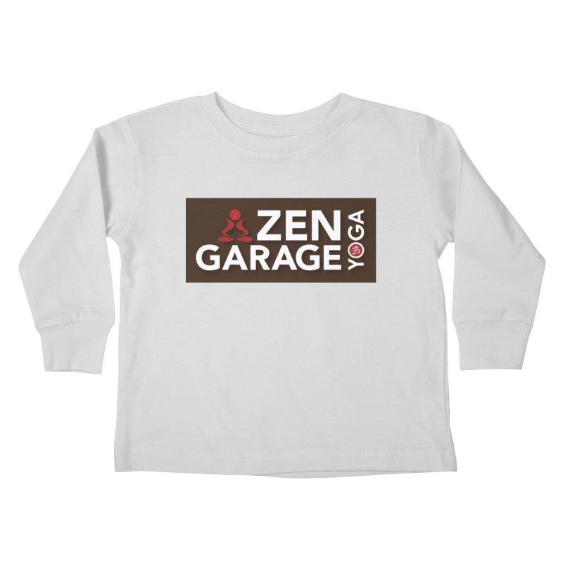 ZYG Logo Kids Toddler Longsleeve T-Shirt by zenyogagarage's Artist Shop
