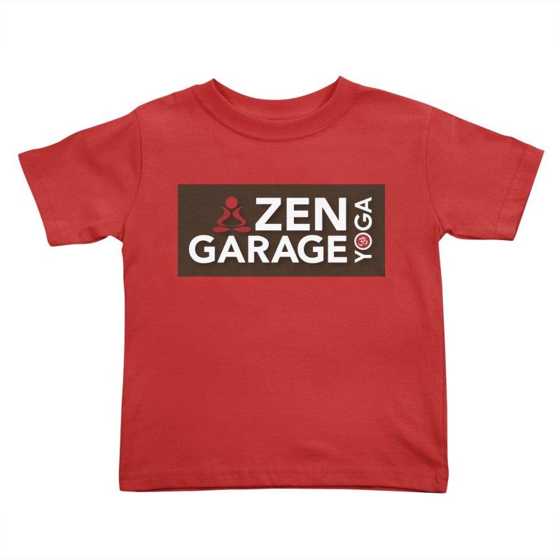 ZYG Logo Kids Toddler T-Shirt by zenyogagarage's Artist Shop