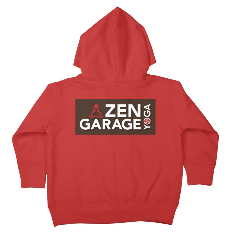 ZYG Logo Kids Toddler Zip-Up Hoody by zenyogagarage's Artist Shop