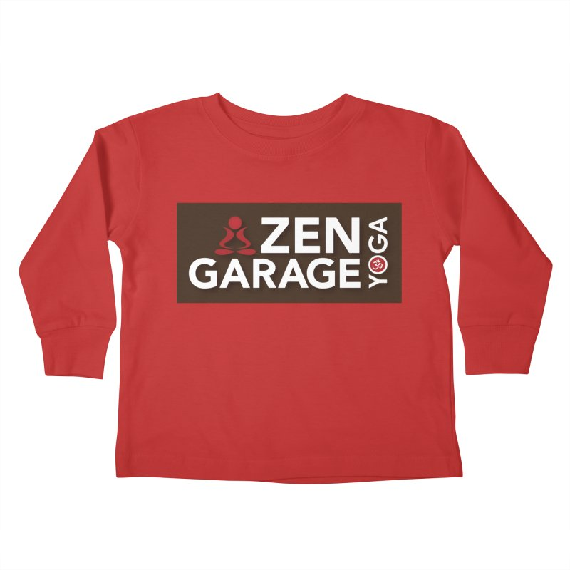 ZYG Logo Kids Toddler Longsleeve T-Shirt by zenyogagarage's Artist Shop