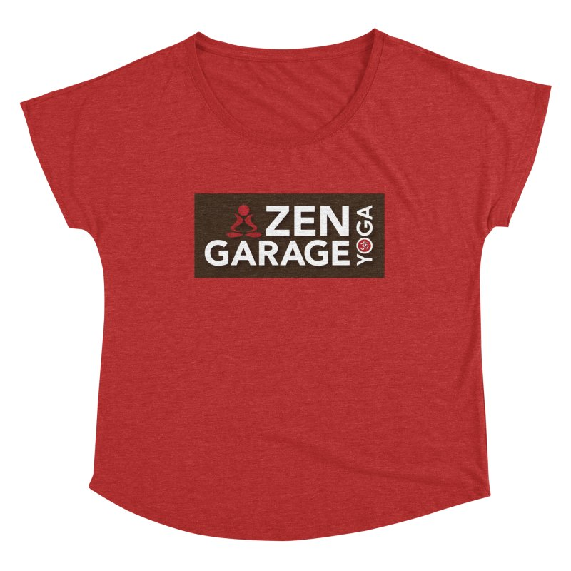ZYG Logo Women's Dolman Scoop Neck by zenyogagarage's Artist Shop