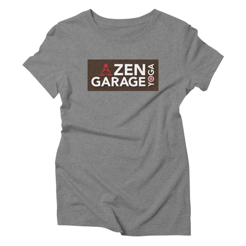 ZYG Logo Women's Triblend T-Shirt by zenyogagarage's Artist Shop
