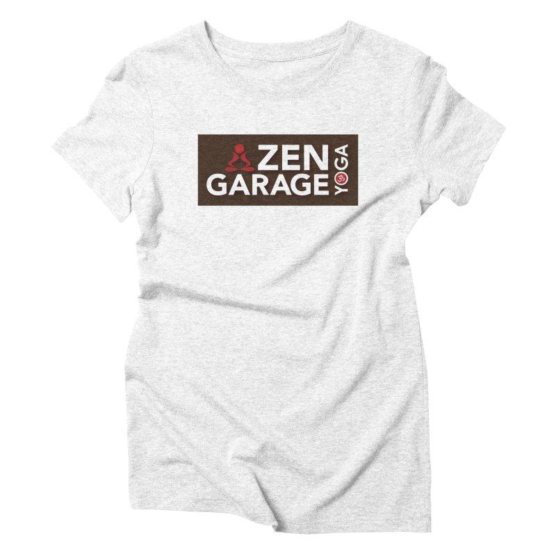 ZYG Logo Women's Triblend T-shirt by zenyogagarage's Artist Shop