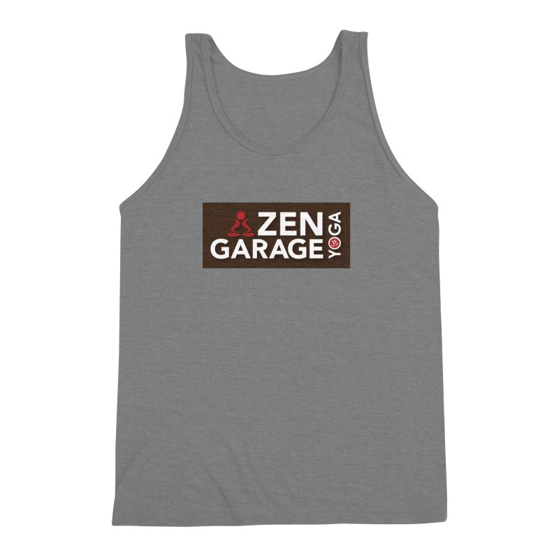 ZYG Logo Men's Tank by zenyogagarage's Artist Shop