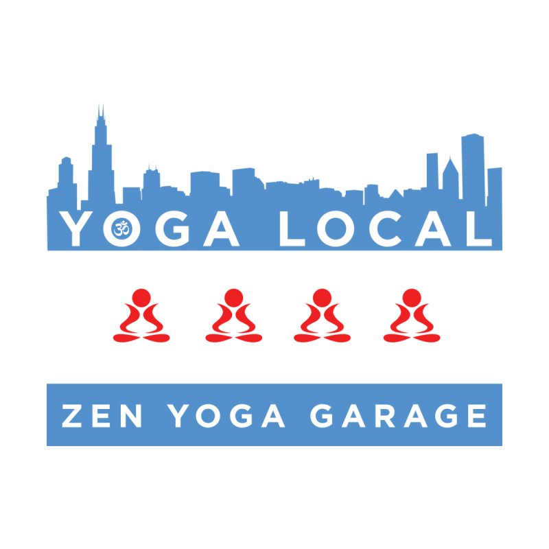LocalYoga Men's T-Shirt by zenyogagarage's Artist Shop