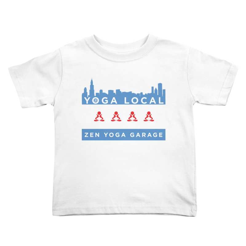 LocalYoga Kids Toddler T-Shirt by zenyogagarage's Artist Shop