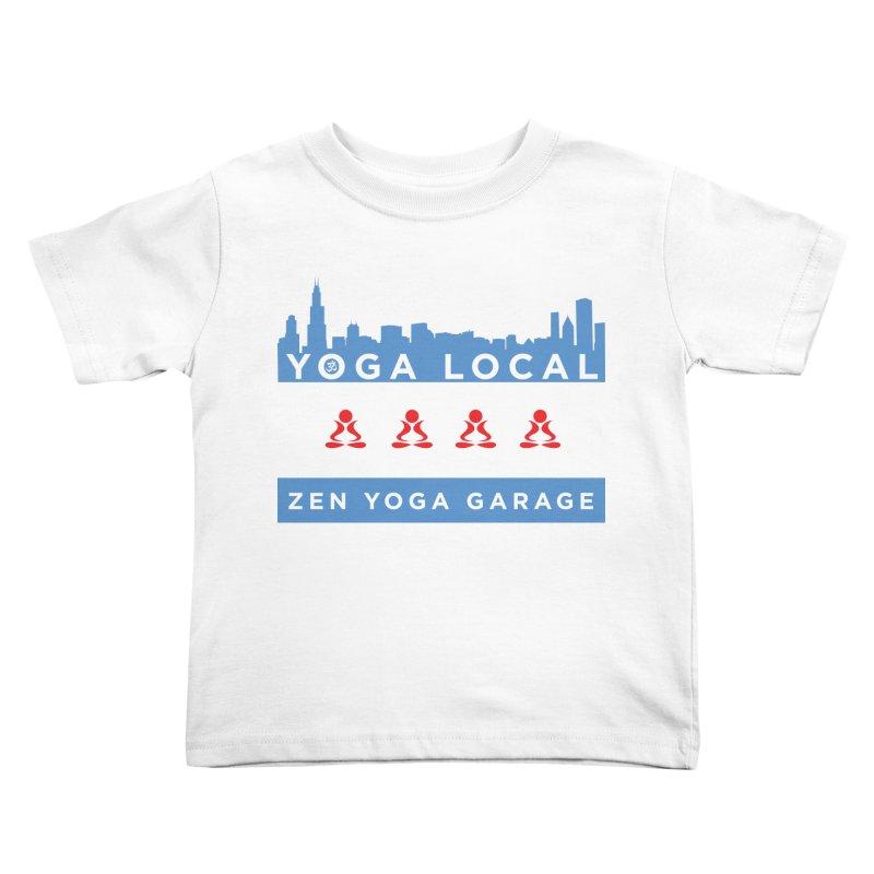 LocalYoga Kids Toddler T-Shirt by zenyogagarage's Artist Shop
