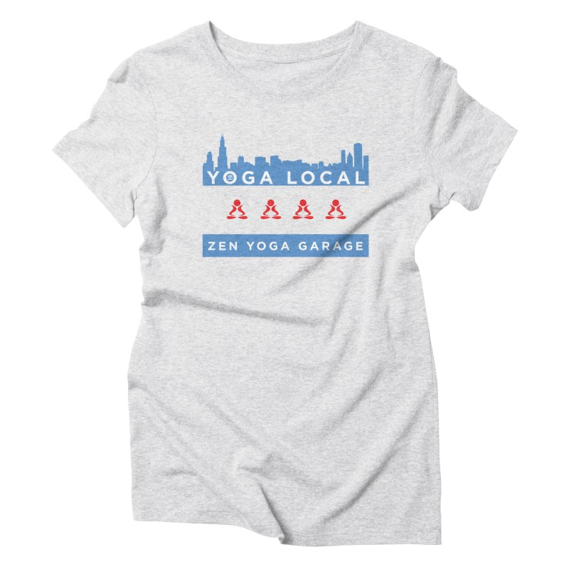 LocalYoga Women's T-Shirt by zenyogagarage's Artist Shop