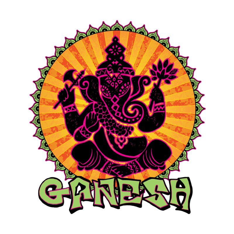 Ganesh is Fresh Women's Baseball Triblend T-Shirt by zenyogagarage's Artist Shop