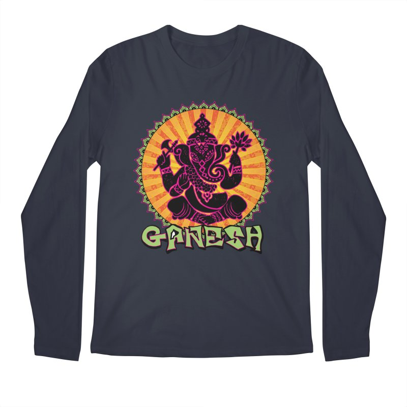 Ganesh is Fresh Men's Regular Longsleeve T-Shirt by zenyogagarage's Artist Shop