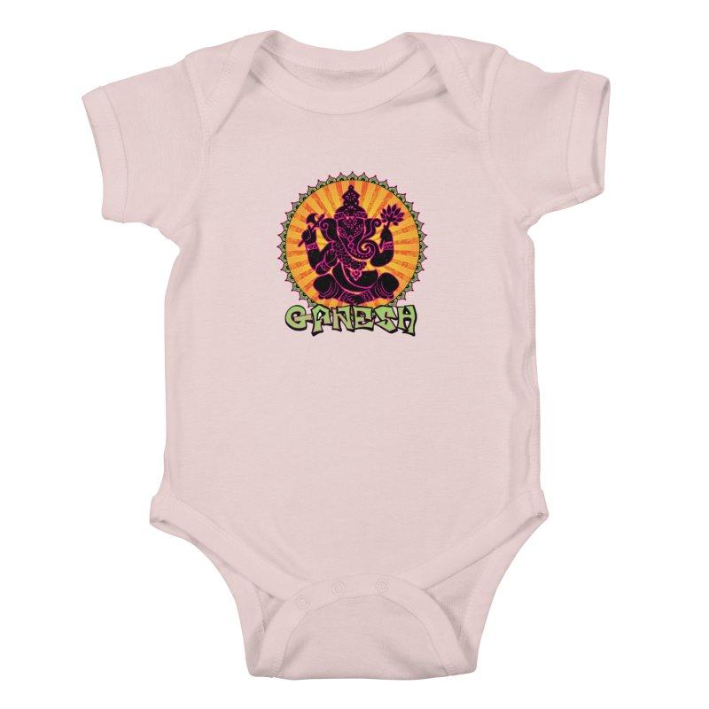 Ganesh is Fresh Kids Baby Bodysuit by zenyogagarage's Artist Shop