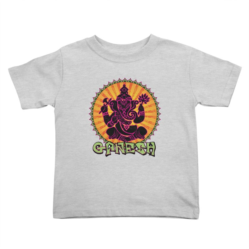 Ganesh is Fresh Kids Toddler T-Shirt by zenyogagarage's Artist Shop