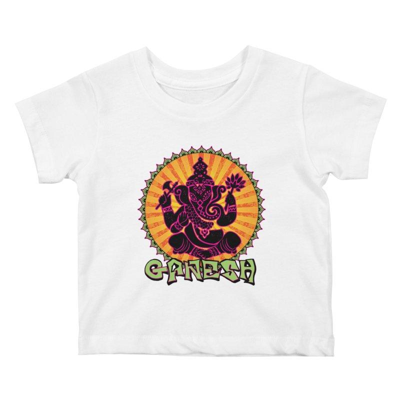 Ganesh is Fresh Kids Baby T-Shirt by zenyogagarage's Artist Shop