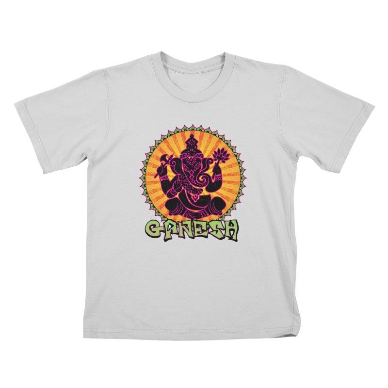 Ganesh is Fresh Kids T-Shirt by zenyogagarage's Artist Shop
