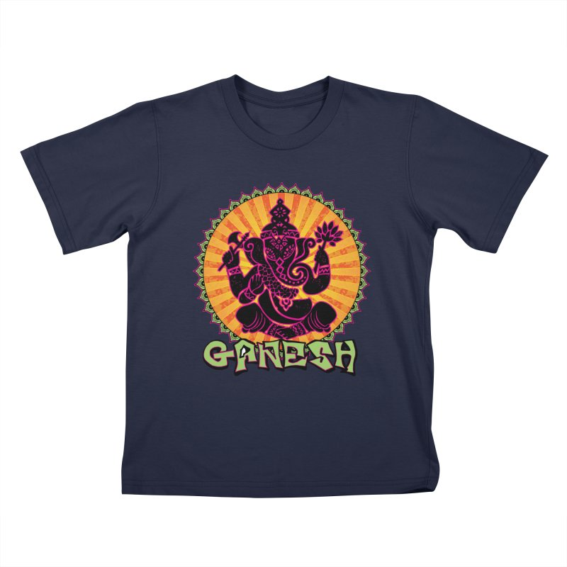 Ganesh is Fresh Kids T-Shirt by zenyogagarage's Artist Shop