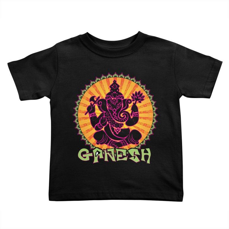 Ganesh is Fresh Kids Toddler T-Shirt by zenyogagarage's Artist Shop