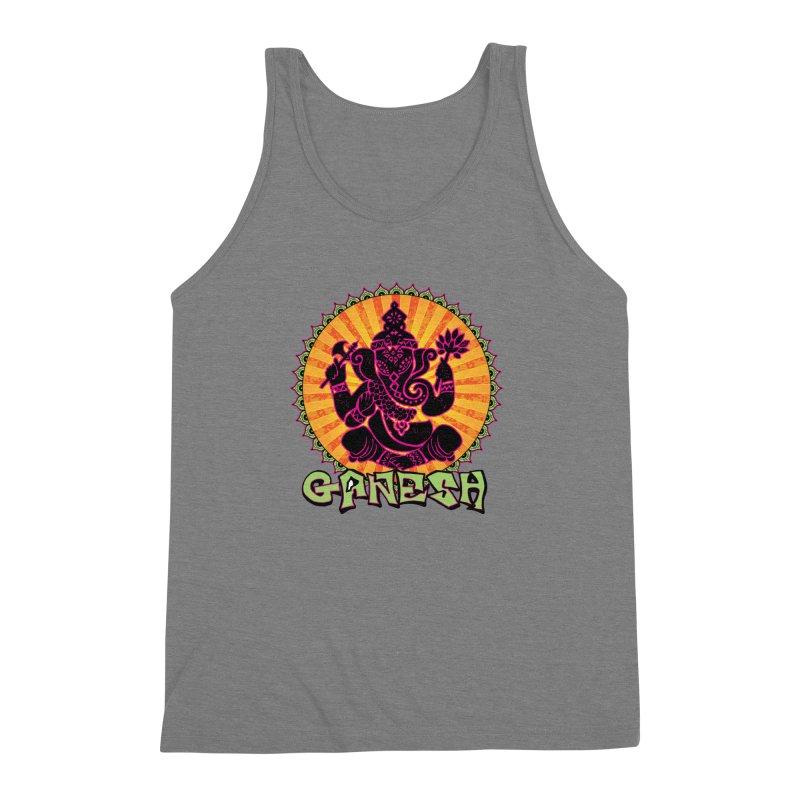 Ganesh is Fresh Men's Triblend Tank by zenyogagarage's Artist Shop