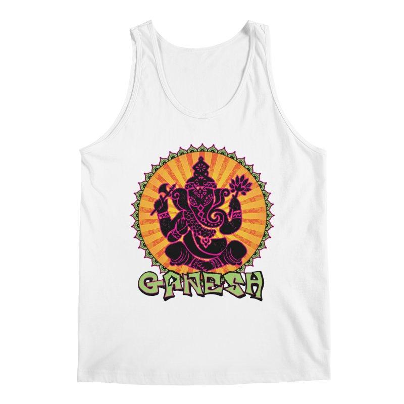 Ganesh is Fresh Men's Regular Tank by zenyogagarage's Artist Shop