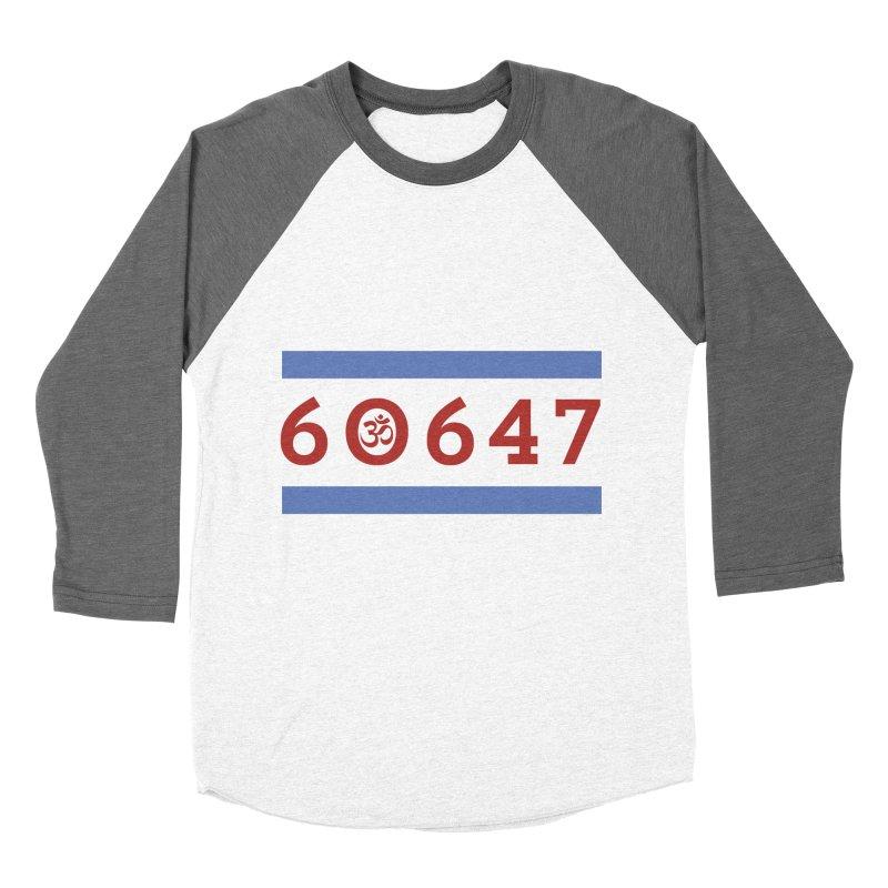 60hm647 Women's Baseball Triblend Longsleeve T-Shirt by zenyogagarage's Artist Shop