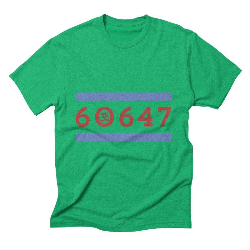 60hm647 Men's Triblend T-shirt by zenyogagarage's Artist Shop