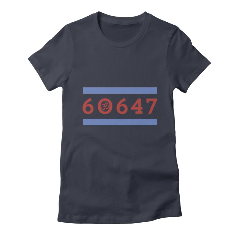 60hm647 Women's Fitted T-Shirt by zenyogagarage's Artist Shop
