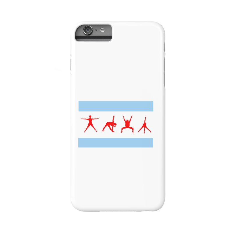 Chicago Flag Accessories Phone Case by zenyogagarage's Artist Shop