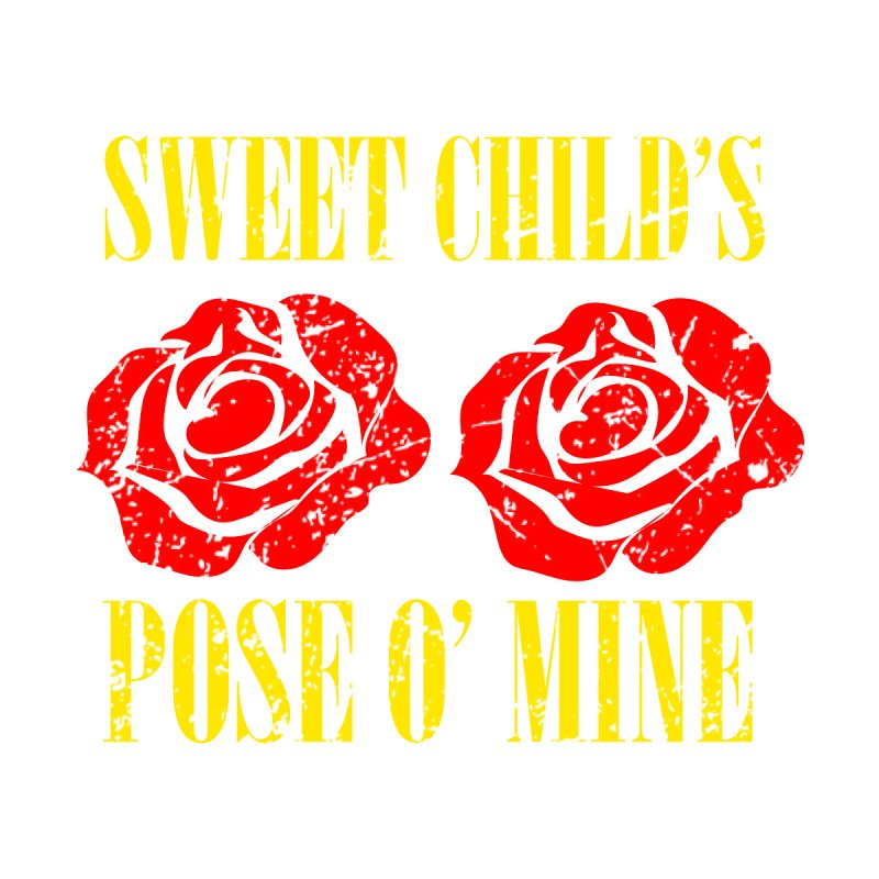 Sweet Child's Pose O' Mine Women's Scoop Neck by zenyogagarage's Artist Shop