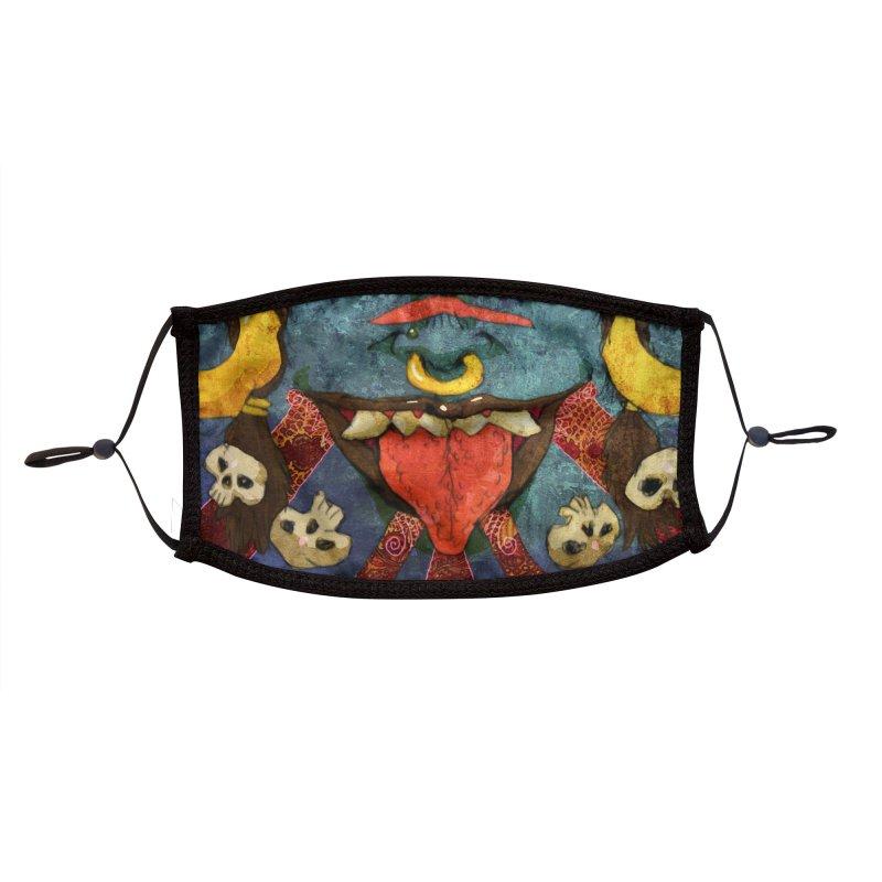 Kali - Menpo Accessories Face Mask by Zeph Zero's Armory Shop