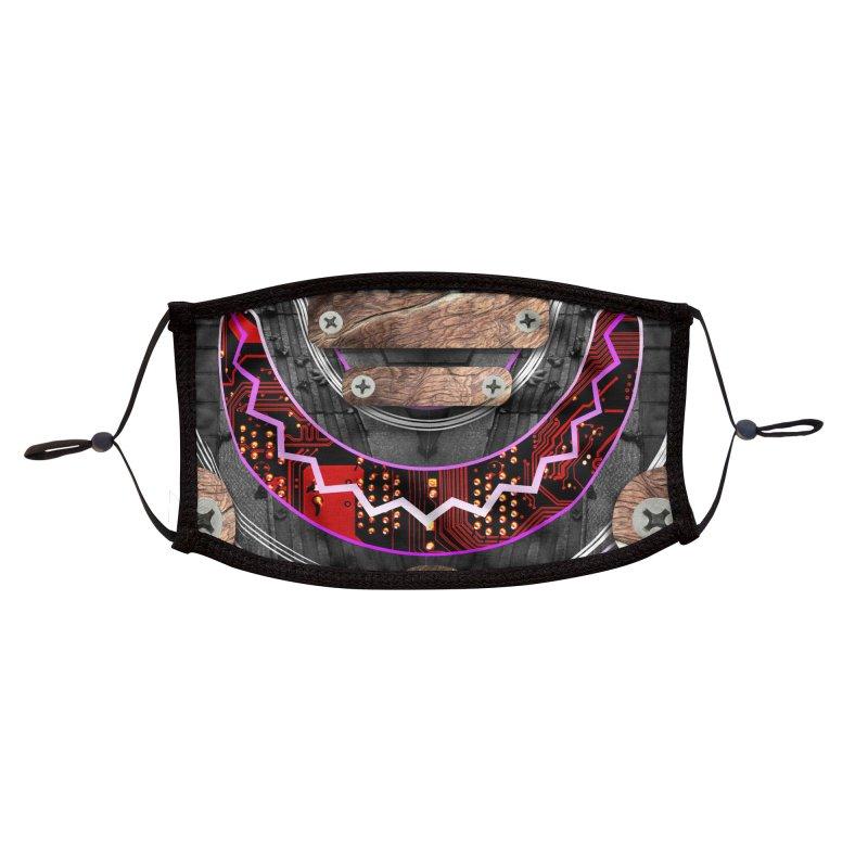 Hephaestus - Mengu Accessories Face Mask by Zeph Zero's Armory Shop