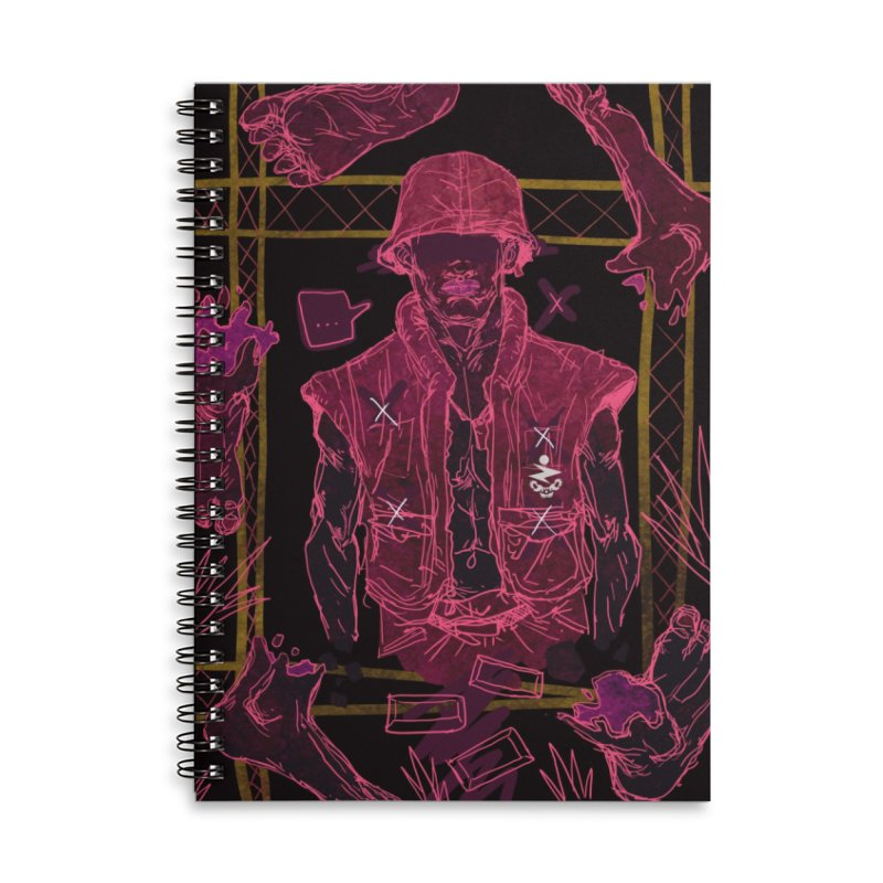 5 Bloods Accessories Notebook by Zeph Zero's Armory Shop