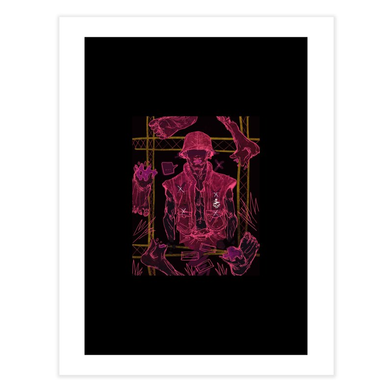 5 Bloods Home Fine Art Print by Zeph Zero's Armory Shop