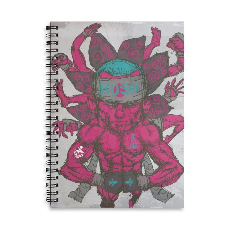 Rush Accessories Notebook by Zeph Zero's Armory Shop
