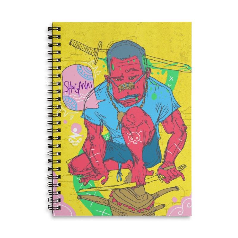 Shoganai Accessories Notebook by Zeph Zero's Armory Shop