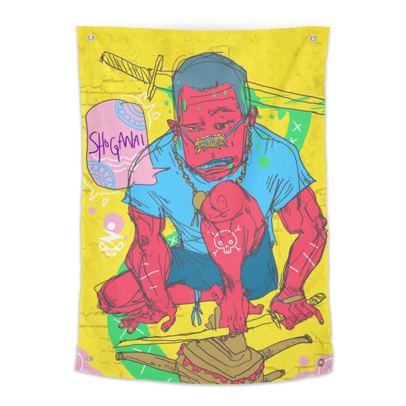 Shoganai Home Tapestry by Zeph Zero's Armory Shop
