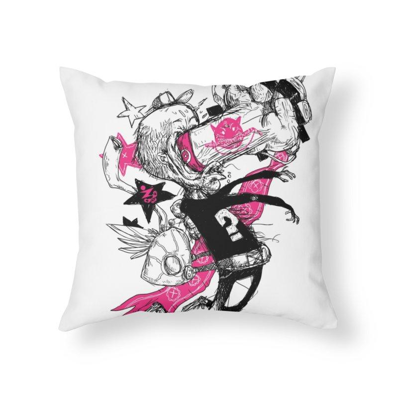 Plan Plan Plan Home Throw Pillow by Zeph Zero's Armory Shop