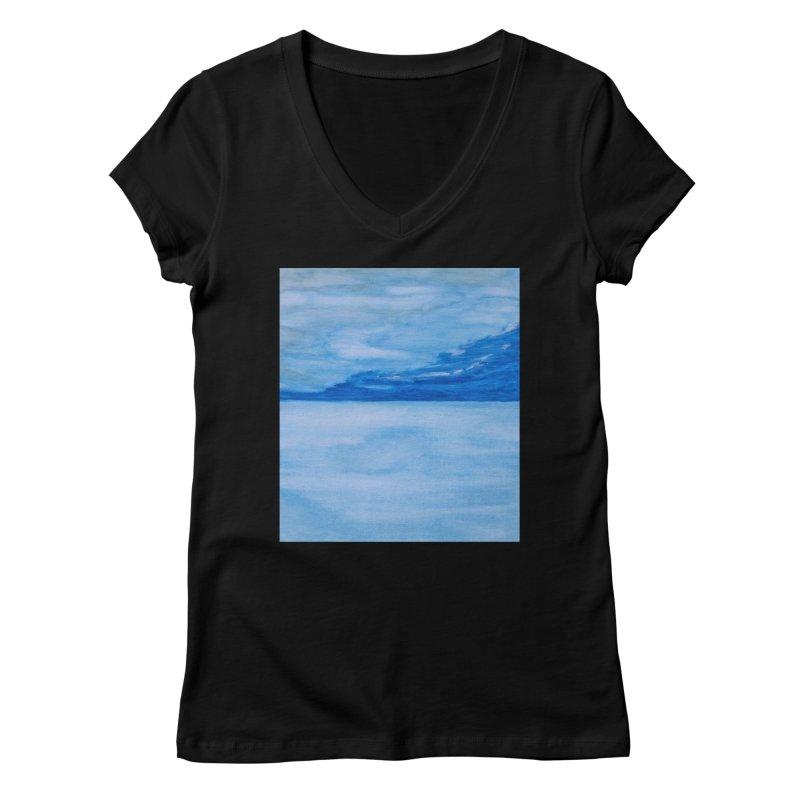 Lake Lucern Women's V-Neck by Zerah