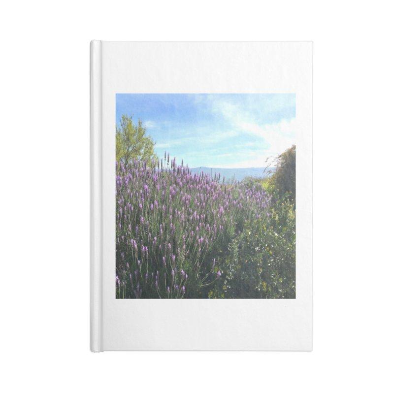 Lavender Land Accessories Notebook by Zerah