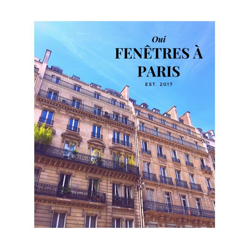 Fenêtres à Paris Men's V-Neck by Zerah
