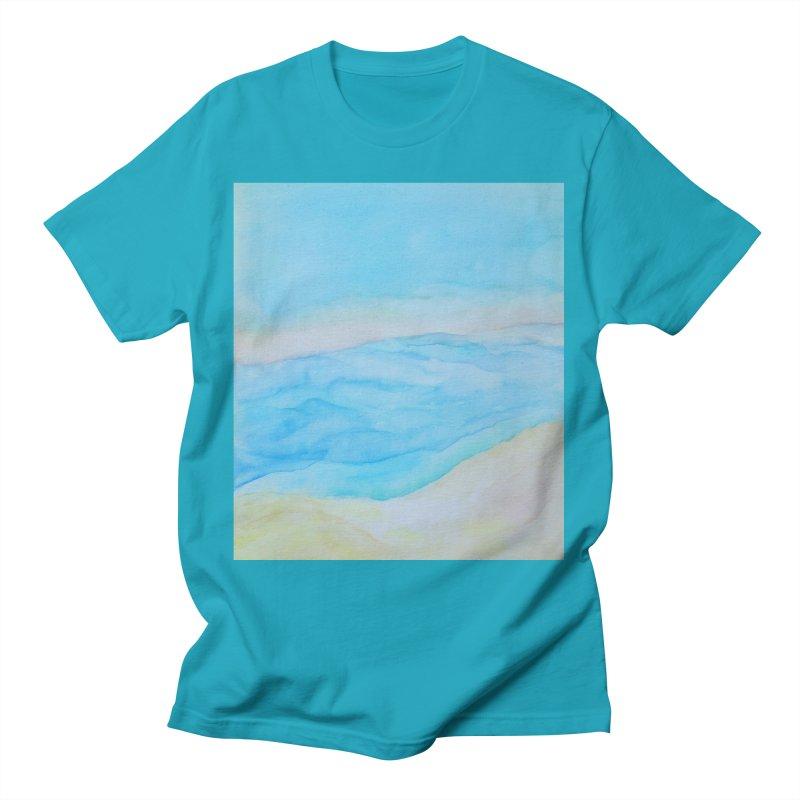 Dead Sea Bliss Men's T-Shirt by Zerah