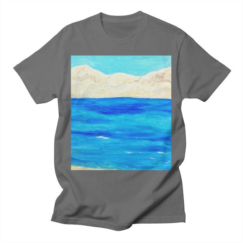 Crossing Over Men's T-Shirt by Zerah