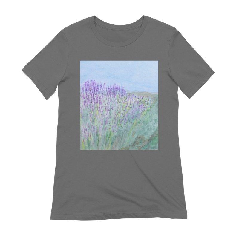 Lavender Tel Hai Women's T-Shirt by Zerah
