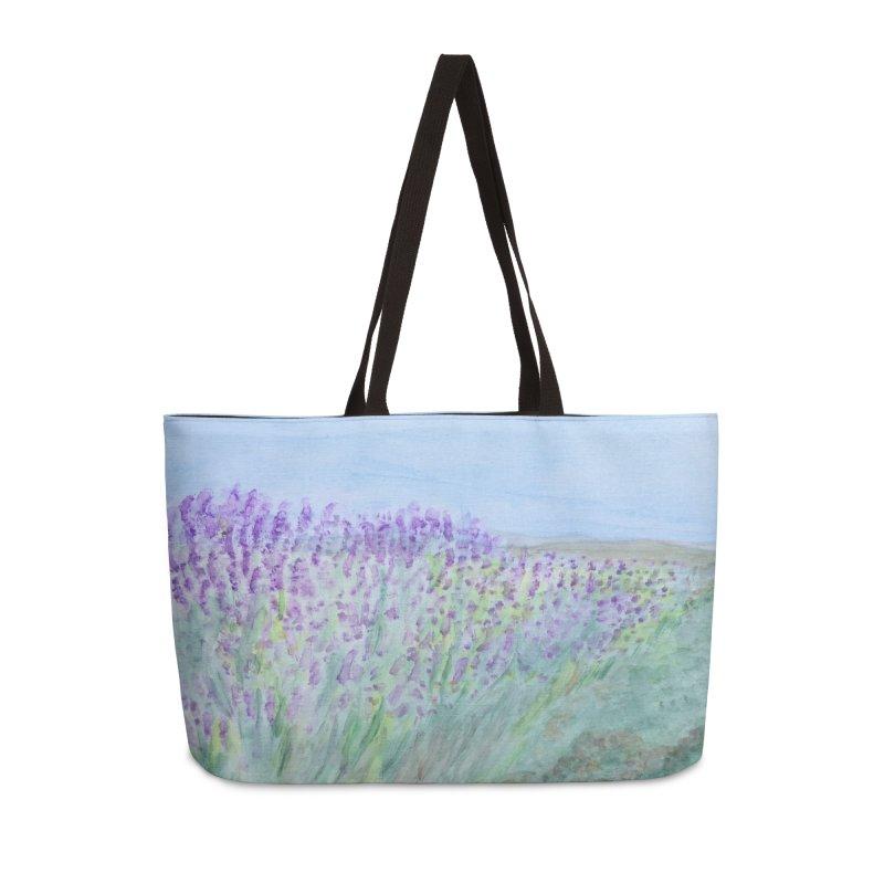 Lavender Tel Hai in Weekender Bag by Zerah