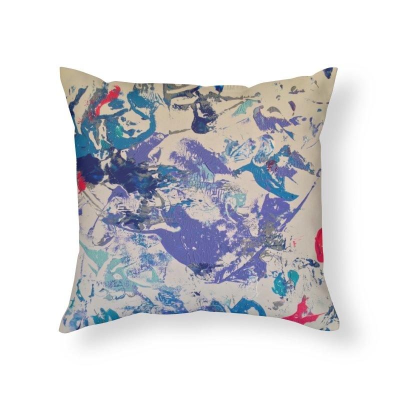 Ecstatic in Throw Pillow by Zerah