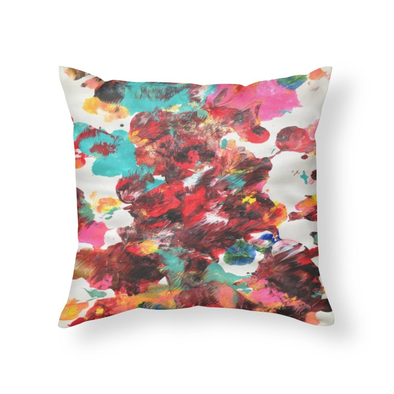 The Wedding Feast in Throw Pillow by Zerah