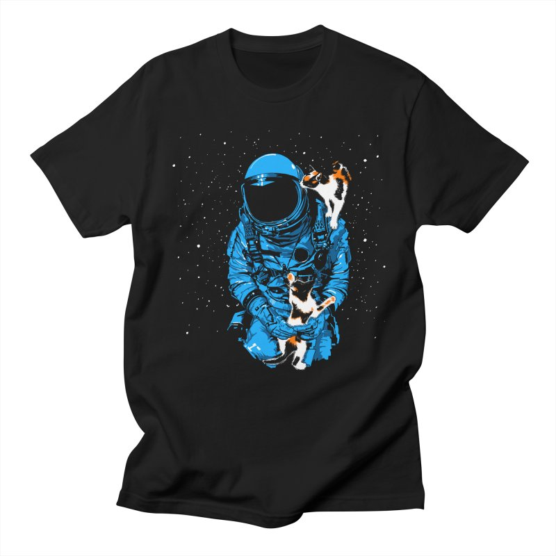 Meow More Space Men's T-Shirt by zerobriant's Meow Shop