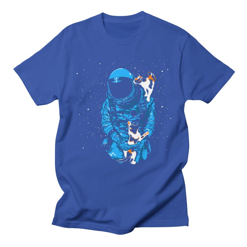 Meow More Space Men's Regular T-Shirt by zerobriant's Meow Shop