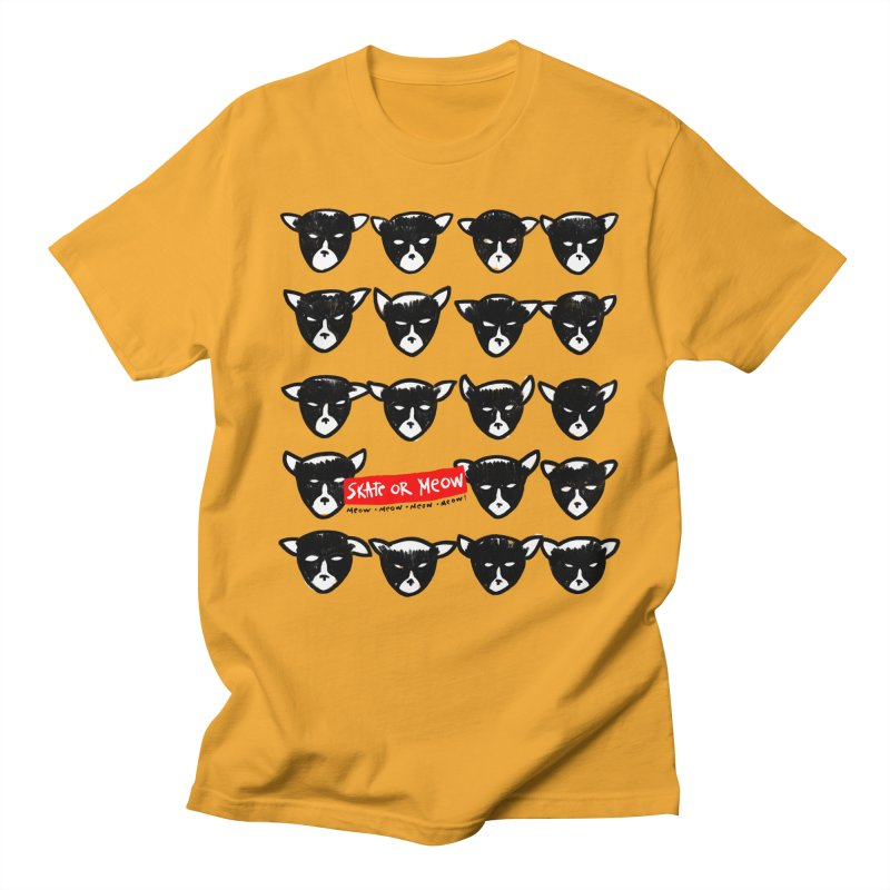Meows Men's T-Shirt by zerobriant's Meow Shop