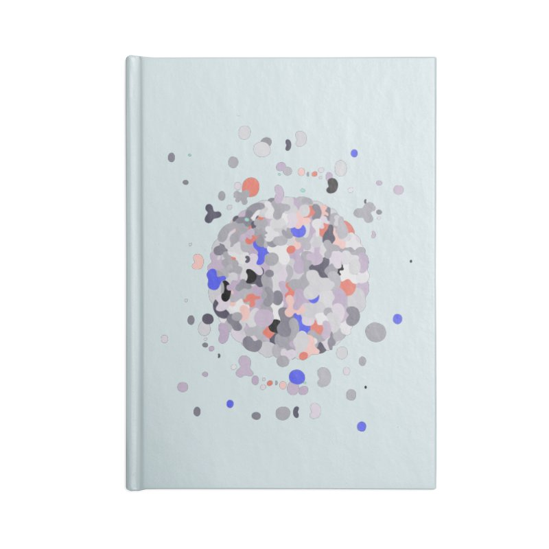 Cellular Senescence Accessories Lined Journal Notebook by zeroing 's Artist Shop