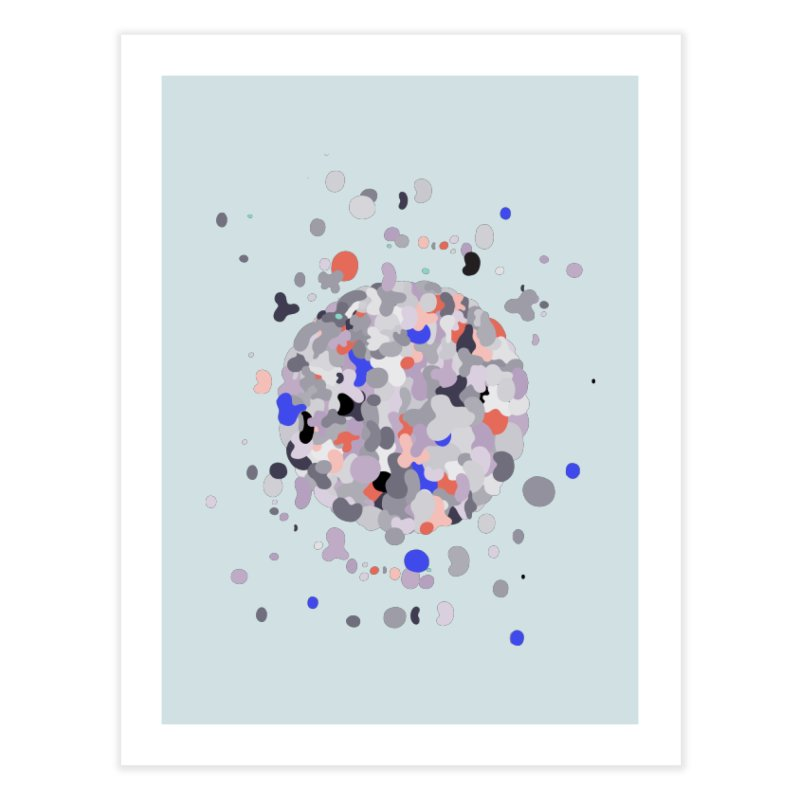 Cellular Senescence Home Fine Art Print by zeroing 's Artist Shop